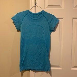 lululemon blue shirt